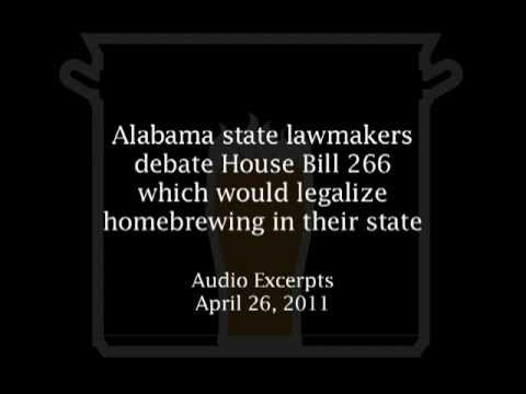 NORTHERN BREWER PRESENTS: Debate on Legalizing Homebrewing in Alabama (2011)