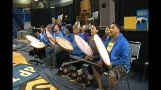 World Eskimo Indian Olympics dance competition winners 2012 at Fairbanks,Alaska.
