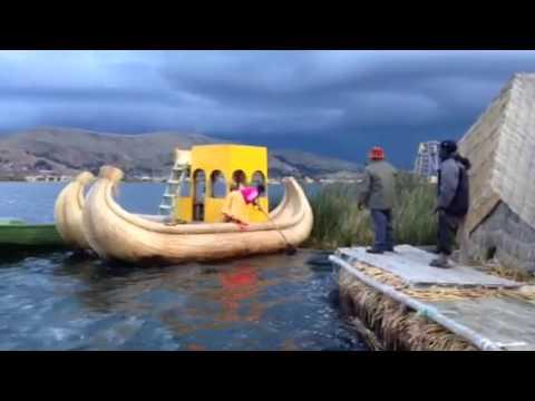 Titicaca Boat (видео)