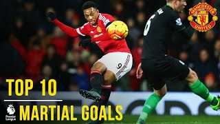 Download Video Anthony Martial | Top 10 Premier League Goals | Manchester United MP3 3GP MP4