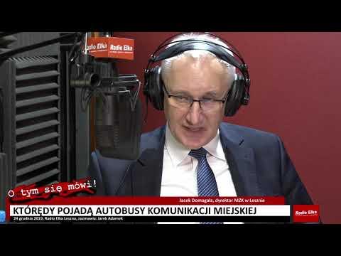 Wideo1: O tym się mówi  - Jacek Domagała, dyrektor MZK w Lesznie