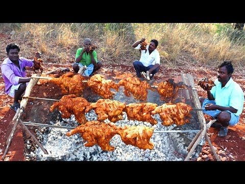 20KG Full Chicken Tandoori/Grilled Chicken/Whole Chicken Roast Recipe/food fun village