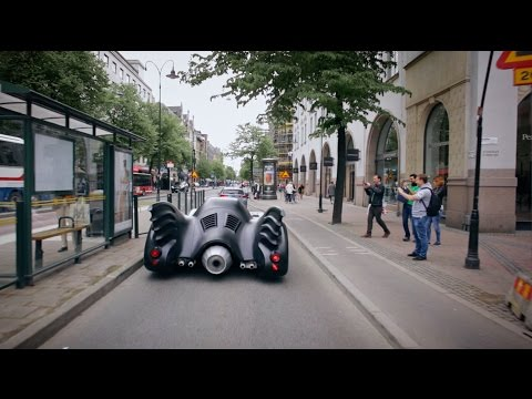 Warner Bros. Nordic & Uber presents: The Batmobile