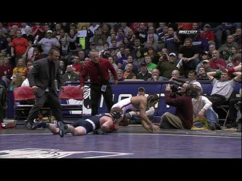 Andrew Long vs Tyler Graff (133) - 2011 Big Ten Wrestling Championships