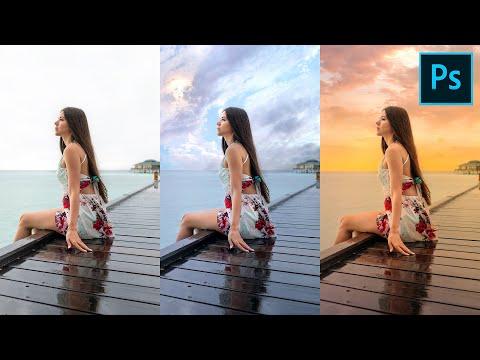 Il Trucco per SOSTITUIRE il cielo e ottenere foto mozzafiato in Photoshop CC -  Metodo Veloce