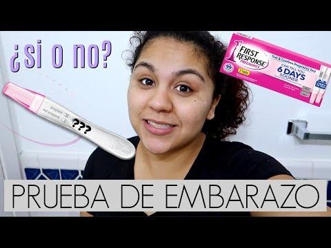 Haciendome una prueba de EMBARAZO 😳+ reaccion real!-MaggieVlogs