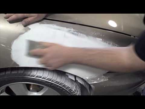 (Auto Body Training) - How To Apply *3M* Finishing Glaze To Repair (3M Dynamic Mixing System)