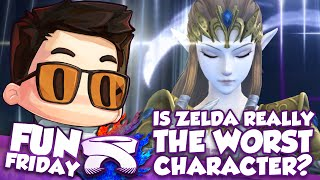 【Analysis】Is Zelda The Worst Character? – ZeRo