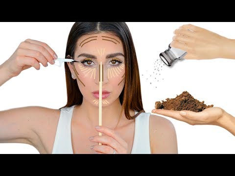 Make up - 15 DIY Makeup Life Hacks and Beauty Hacks That Will Change Your Life  Full Face of Makeup Hacks