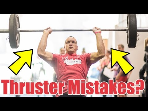Thrusters Technique (Proper Way To Hold The Bar)