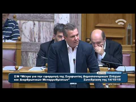 Τ. Πετρόπουλος: Θα επανεξεταστεί το θέμα της επιλογής ασφαλιστικής κατηγορίας