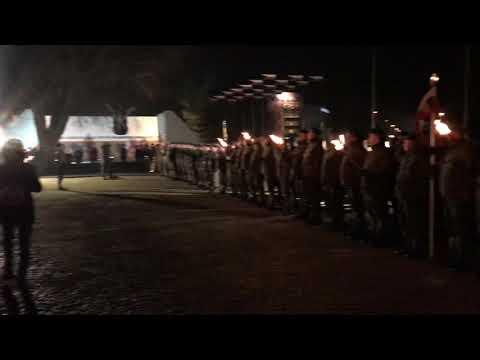 Wideo1: Salut armatni na 100-lecie powrotu Leszna do Macierzy
