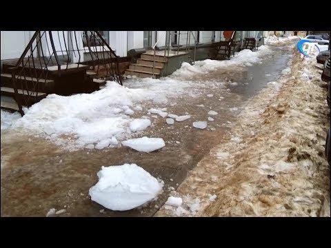 Осторожно: тает лёд