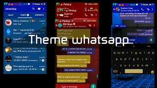 How To Theme your whatsapp !!