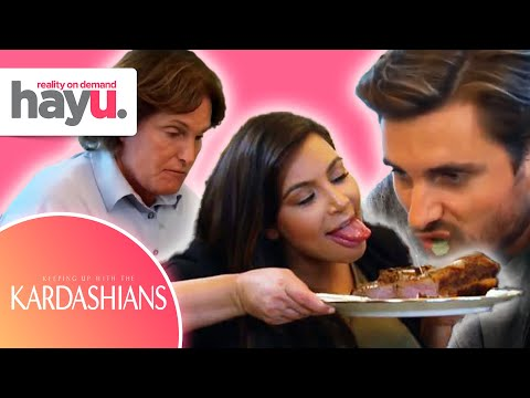 Kim Kardashian's Placenta Prank | Season 8 | Keeping Up With The Kardashians