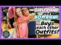 BOYFRIEND n GIRLFRIEND BUY EACH OTHER BACK TO SCHOOL OUTFITS!