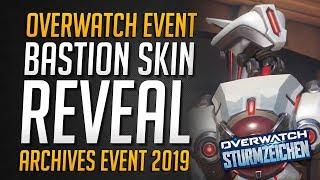 Overwatch GWISHIN BASTION Legendary Skin   Overwatch Archives • Overwatch Deutsch