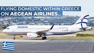 Don't forget to check out our other social media outlets! :)https://www.facebook.com/Simplyaviation/https://www.twitter.com/simply_aviationhttps://www.instagram.com/Simply_AviationAirline: Aegean AirlinesAircraft: Airbus A320Registration: SX-DNASeat: 21AFrom: Thessaloniki MacedoniaTo: Athens Eleftherios VenizelosDate: June 2017For comments or enquiries contact:info(at)simply-aviation.comCOPYRIGHT 2017www.simply-aviation.com