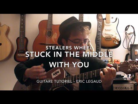 Stuck in the middle with you (stealers wheel): для голоса и фортепиано (или гитары) by gerry rafferty, joe egan