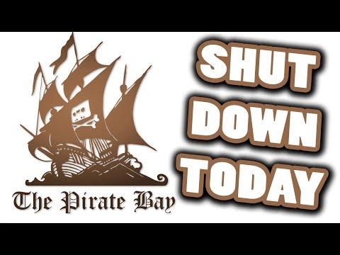 pirate bay shut down 2018