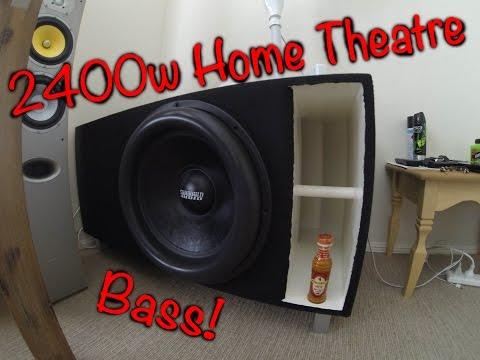 2400w Home Theatre Bass