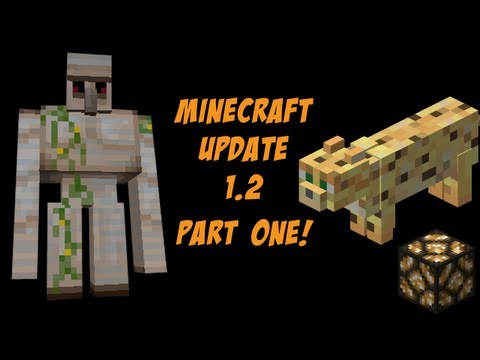 minecraft 1.2 update - This is part one of the update video, make sure to watch part two afterwards! Part Two: http://www.youtube.com/watch?v=CgAGe9liC08 My G2PO Channel: www.g2po....