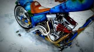 10. EXOTICO - AMERICAN IRONHORSE TEXAS CHOPPER EXOTIC first start 2013