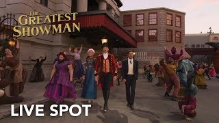 Video The Greatest Showman | Live Spot HD | 20th Century Fox 2017 MP3, 3GP, MP4, WEBM, AVI, FLV Januari 2018