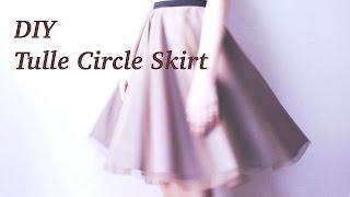 Video DIY Tulle Circle Skirt / Sewing Tutorialㅣmadebyaya MP3, 3GP, MP4, WEBM, AVI, FLV Desember 2018