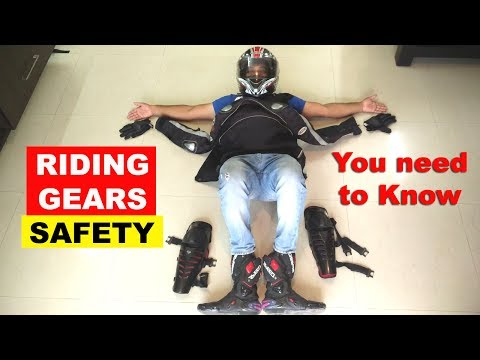 Life Savers - Motorcycle Safety Gear - Everything u need to know