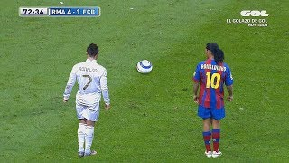 Video 10 Times Cristiano Ronaldo Copied Ronaldinho MP3, 3GP, MP4, WEBM, AVI, FLV Februari 2019