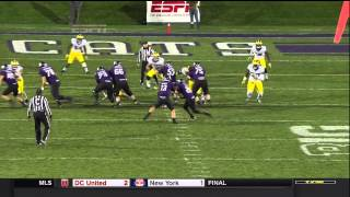 2014 Michigan football highlights @ Northwestern