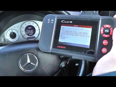 Mercedes SRS Airbag Light Will Not Turn Off With Diagnostic Tool - Here Is Why