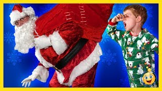In this funny Bad Santa Night Before Christmas Parody story, Santa Claus makes a loud noise while delivering holiday toys, ...