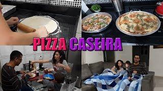 NOITE DA PIZZA: RECEITA DE PIZZA FÁCIL E GOSTOSA  Letícia Veloso