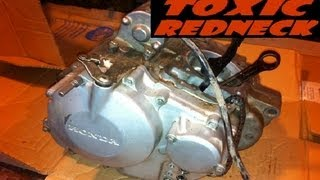 9. Pulling Apart the Honda TRX400EX Engine (engine disassembly)