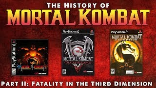 Video The History of Mortal Kombat Part II - Fatality in the Third Dimension. MP3, 3GP, MP4, WEBM, AVI, FLV Desember 2018
