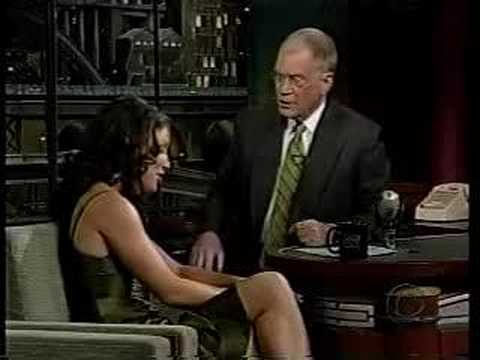 Evangeline Lilly on David Letterman 11/12/04