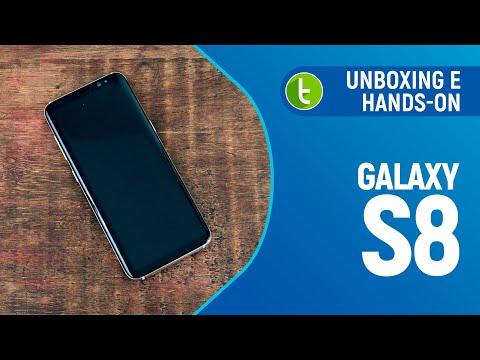 Unboxing e primeiras impressões do Galaxy S8  TudoCelular.com