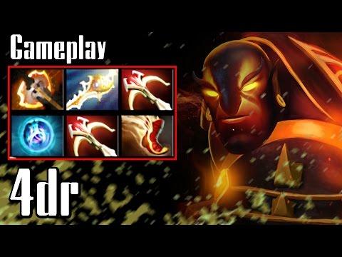 4dr Ember Spirit - Dota 2 Gameplay - vol 1 (Ranked, 7000 MMR)