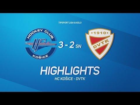 9. forduló: HC Kosice - DVTK Jegesmedvék 3-2