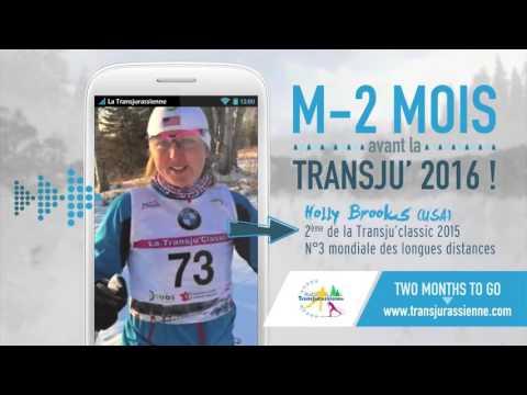 La Transju', c'est M-2 mois pour Holly Brooks ! (видео)