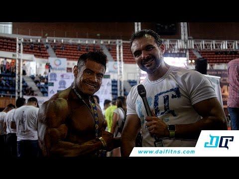 Entrevista Eric Bello - Ganador 85 kg