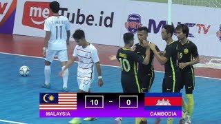 Video Highlights Malaysia Vs Cambodia (10-0) AFF Futsal Championship 2018 MP3, 3GP, MP4, WEBM, AVI, FLV November 2018