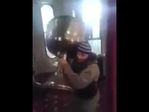 Чеченцы из ИГ осквернили храм в Сирии