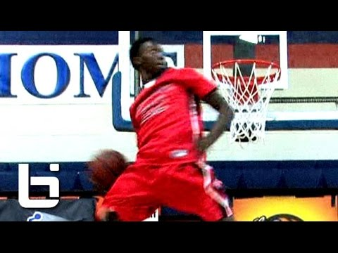 High - Here is the best dunker in high school, 6'2″ Kwe Parker, showing out for the last 2 seasons.