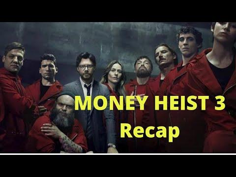 Money Heist Season 3 Recap (Casa de Papel) English