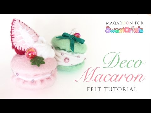 fancy - Guest Crafter: http://www.youtube.com/maqaroon Like Us on Facebook: http://www.facebook.com/Sweetorials I bought the macaron kits here: http://tinyurl.com/mfpf7qs Pufftique's fork ribbon tutorial:...