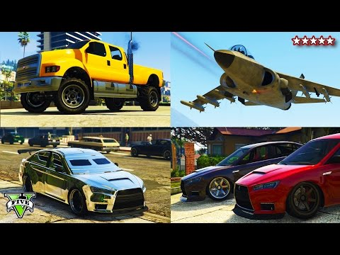 GTA 5 NEW Heists DLC SHOWCASE! - Spending $5,000,000 GTA Heists DLC Buying & Customizing Everything
