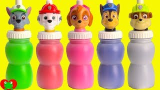 Video Paw Patrol Slime Surprises Learn Colors Nick Jr. MP3, 3GP, MP4, WEBM, AVI, FLV November 2018